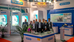 Sentech booth at SEMICON 2014
